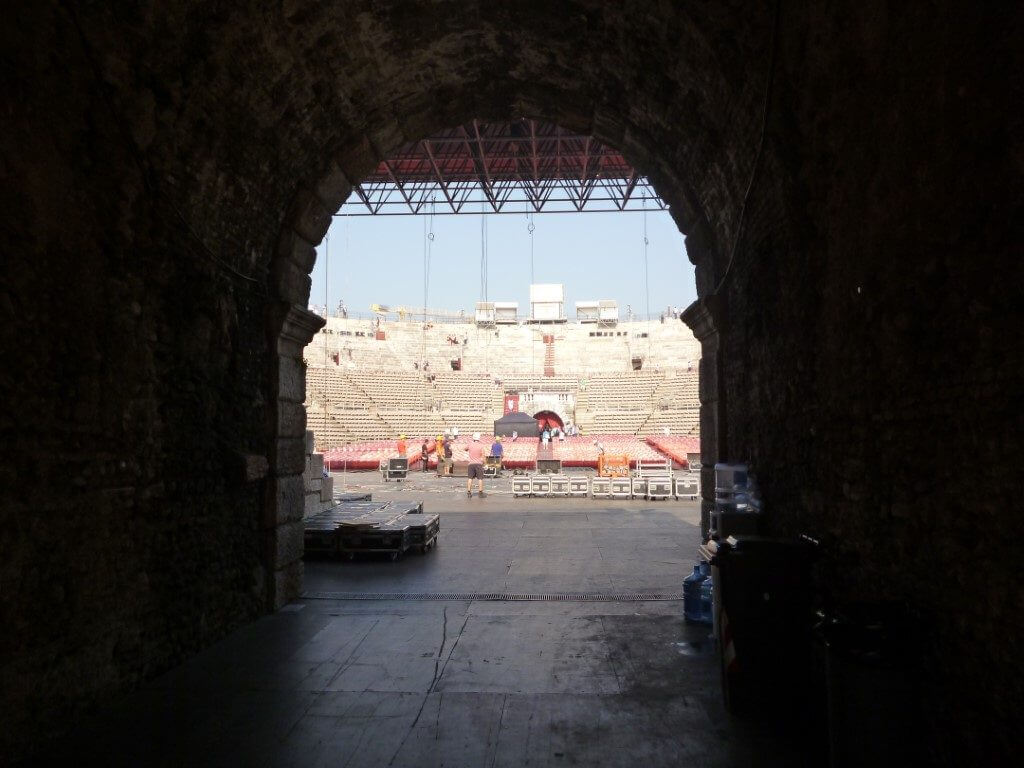 Impanti edifici monumentali Arena di Verona